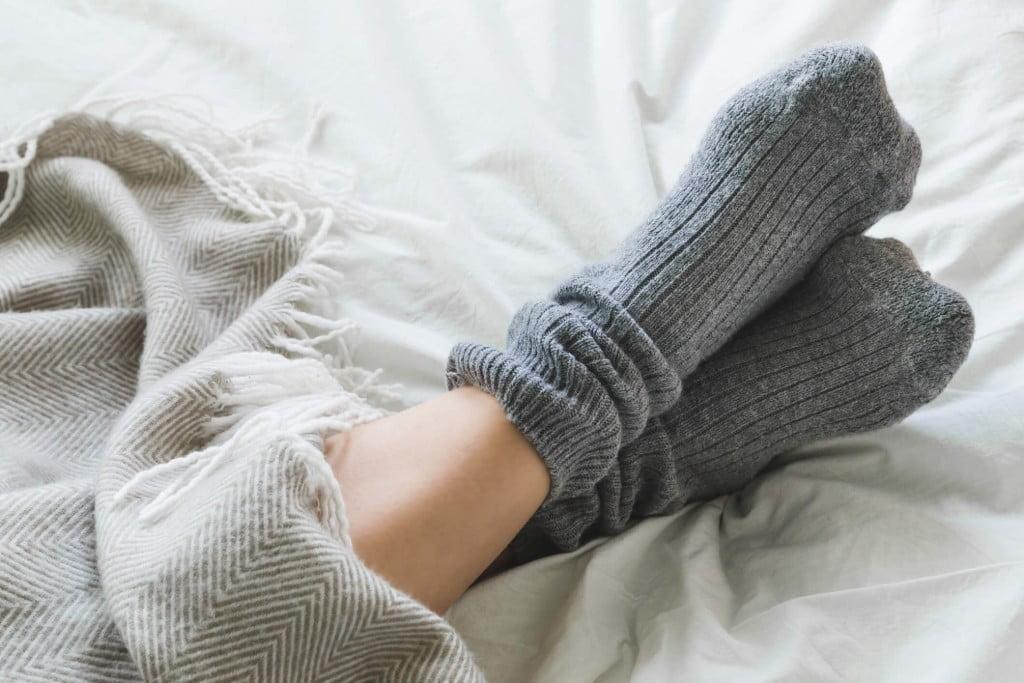 Suados má circulação frios pés